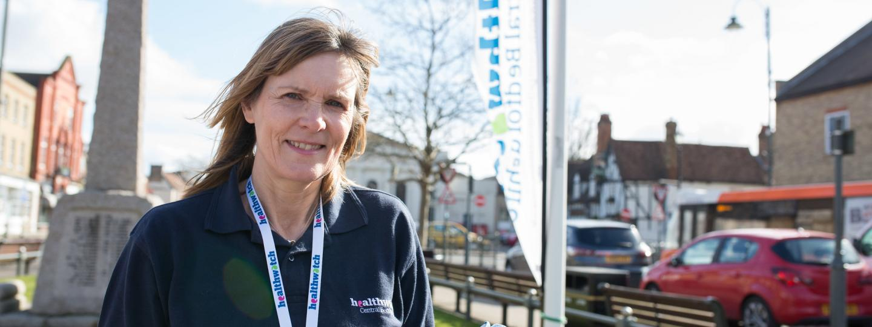 Female Healthwatch volunteer